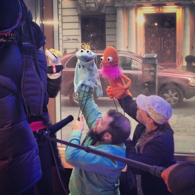 Appearing on Fox News tonight with @jms264 puppeteering my puppets!! Fox is pro puppet. Who knew.