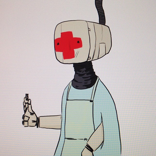 """I'm here to help."" Thinking about medical bots."