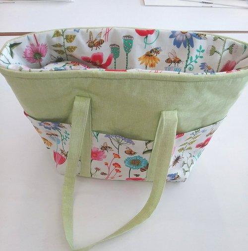 Bag Making Workshop with Julie at Sidmouth Fabrics Devon