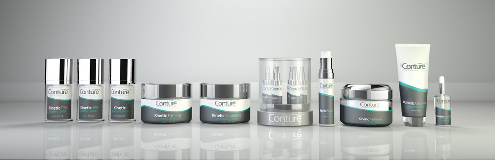 Conture cosmetics 3d line mock up