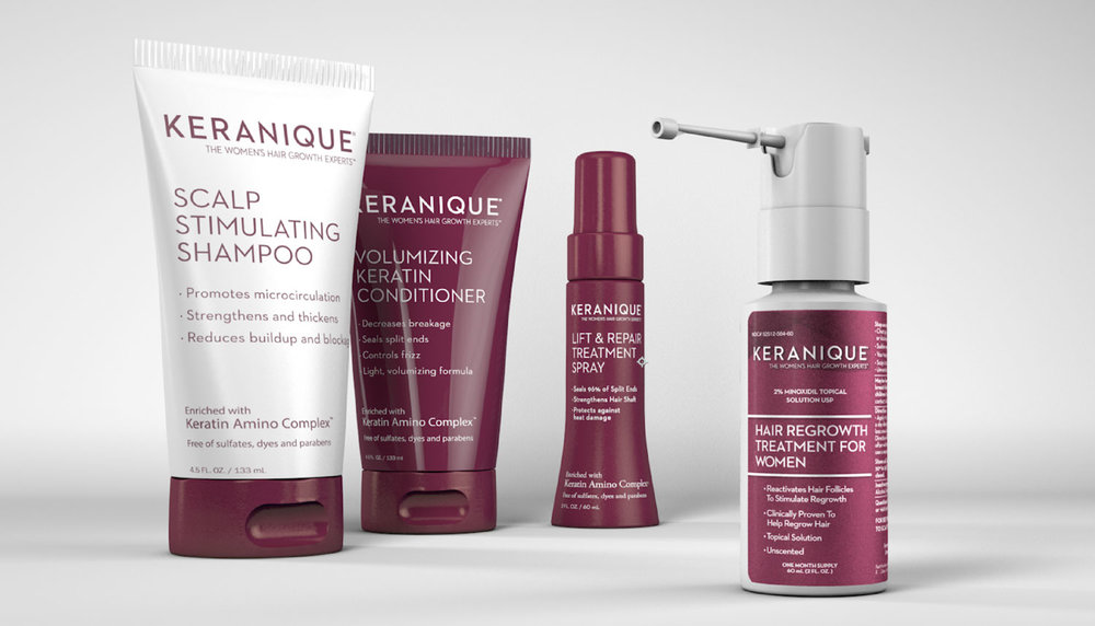 Keranique Product Line up
