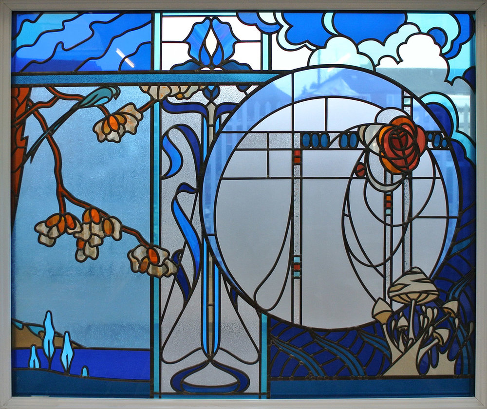 Art Nouveau Inspired Window