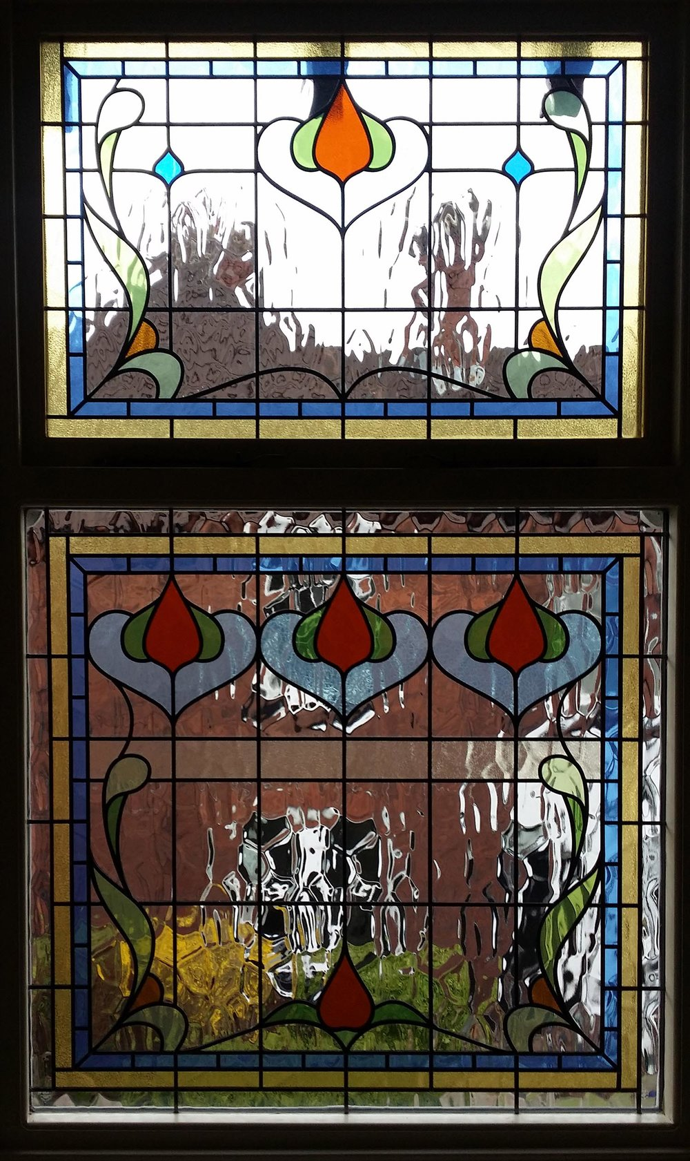 Victorian Style Landing Window