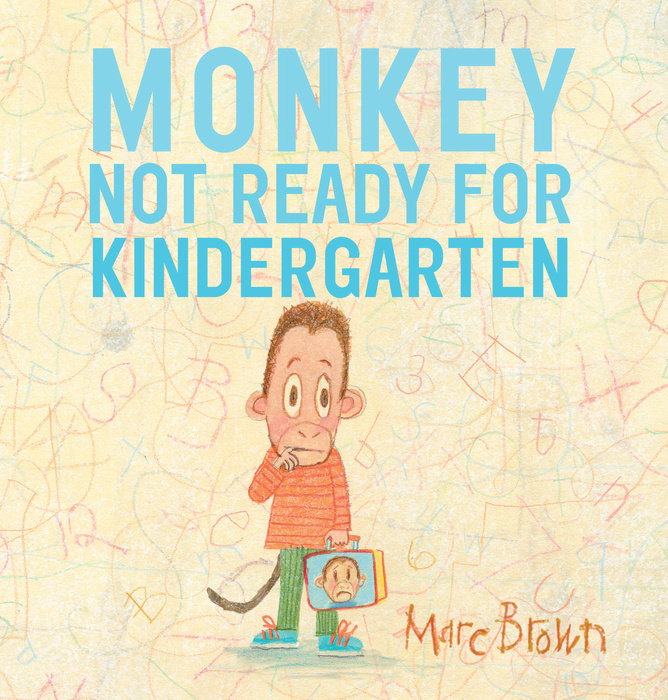 from the Summary:  Kindergarten is only a week away . . . but Monkey is NOT ready. What if he gets on the wrong bus? What if they don't have any red crayons? What if he doesn't like the snacks? What if he doesn't make new friends? There are so many thoughts running through Monkey's head!  But step by step, his family eases his worries: they get him a new backpack, help him read books about school, prepare his lunch, and make sure Monkey is excited—and ready—for the Big Day.