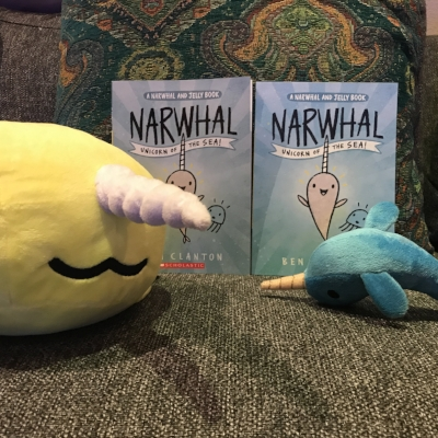 Double Vision with Ben Clanton's  Narwhal: Unicorn of the Sea