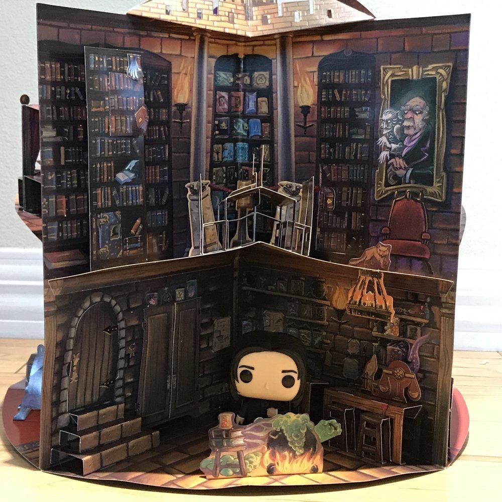 Snape Funko Potion Room Dr Bookworm2.JPG