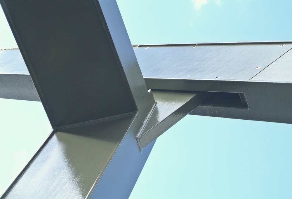 Simple elemental detailing has been used to create an elegant interpretation of an industrial aesthetic.