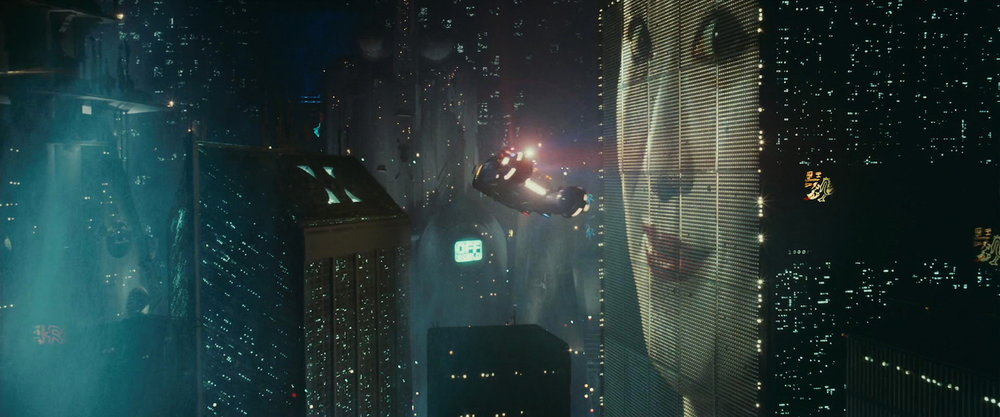 Screencap from Blade Runner (1982), distributed by Warner Bros. Pictures.