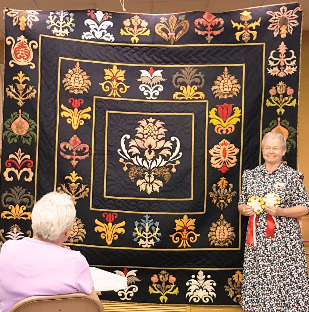 Miriam Reed: Best Hand Quilted