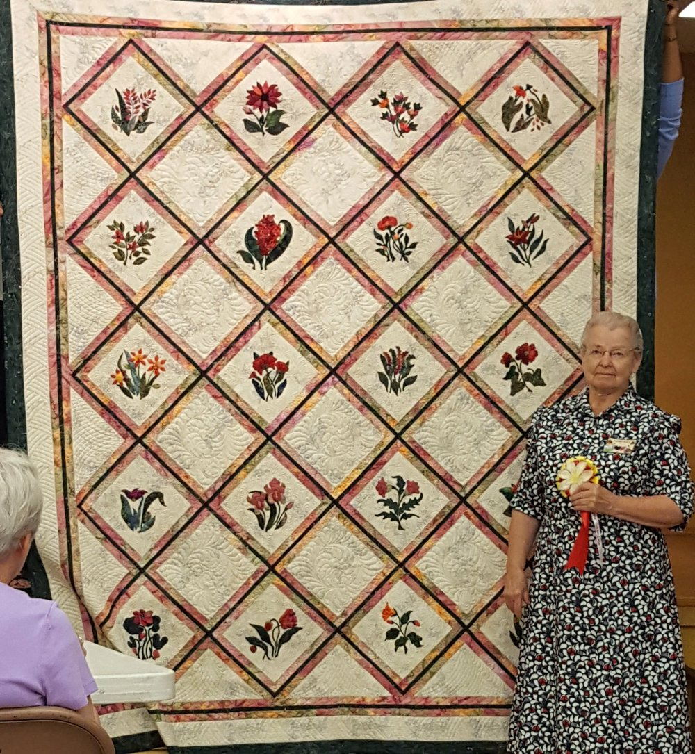 Miriam Reed:Best Machine Quilted Large