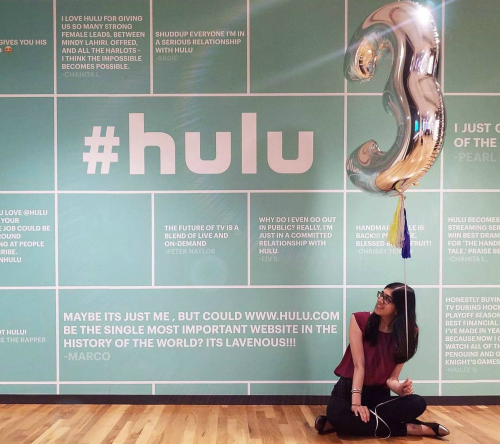 3 Year Huluversary - NY Office Entry Wall.jpg