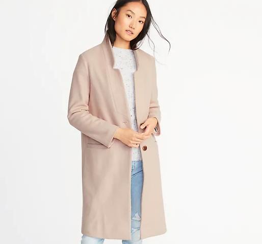 Long Soft Brushed Coat for Women - credit Old Navy.jpg