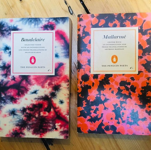 1960s poetry collections from @penguinbooks 😍😍😍these covers  #bookstagram #bookcover