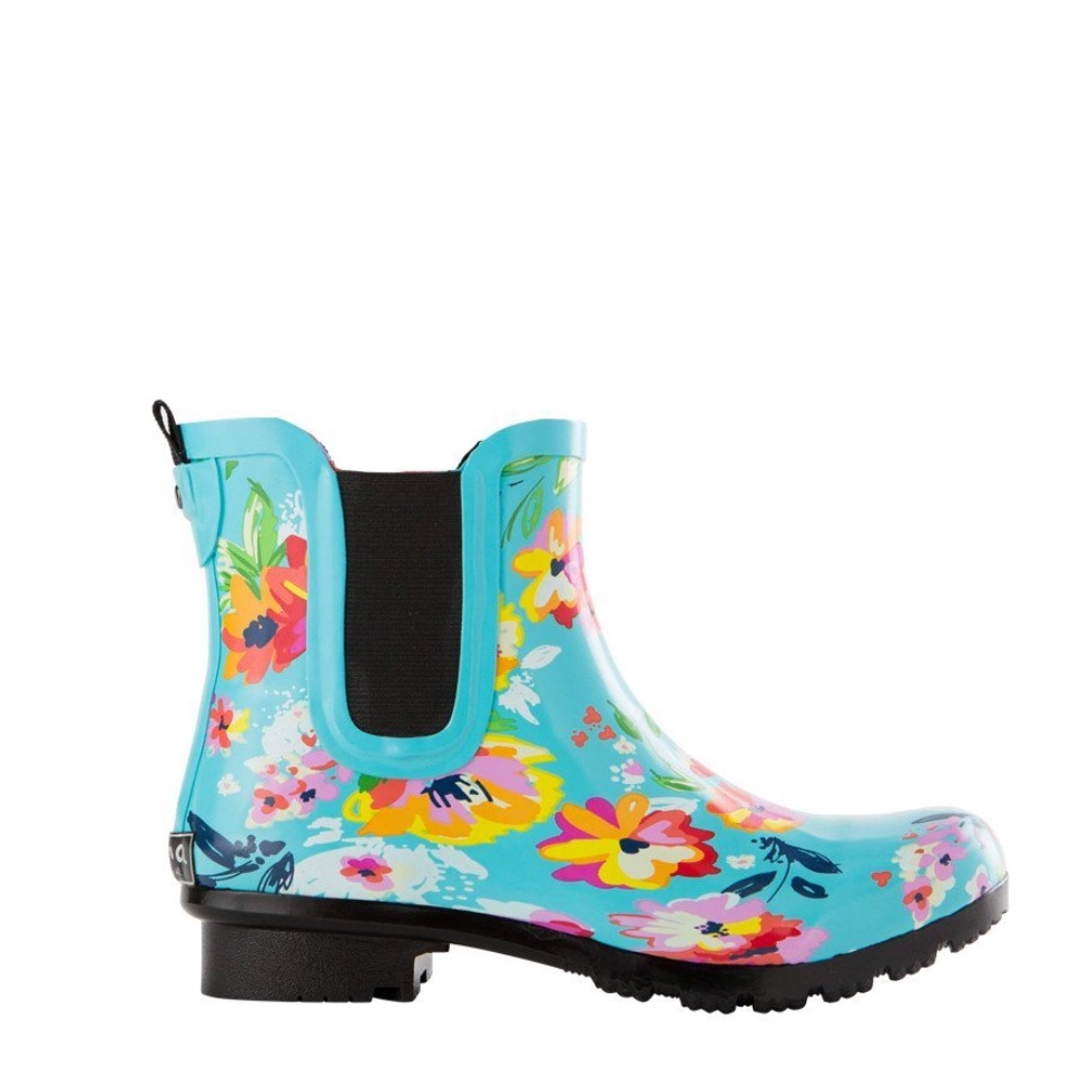 Roma Boots Turquoise.JPG
