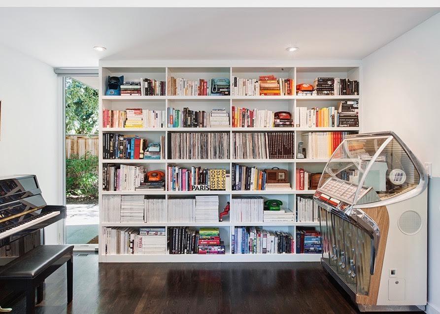 Bookshelves Jennifer Rhode