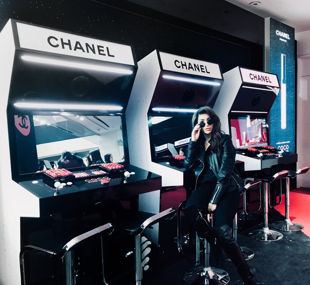 Chanel Coco Game Centre - - Beauty I just love March! It's the month of my best friend's birthday and just like last year, Chanel held its annual pop-up at Holt Renfrew