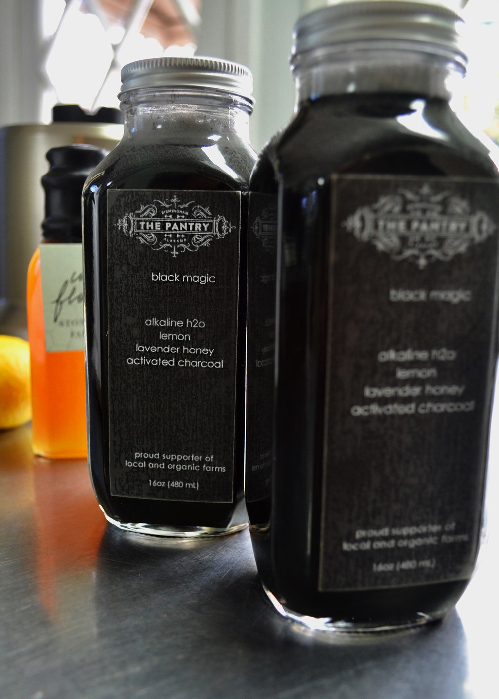 Black Magic, Activated Charcoal Juice at The Pantry