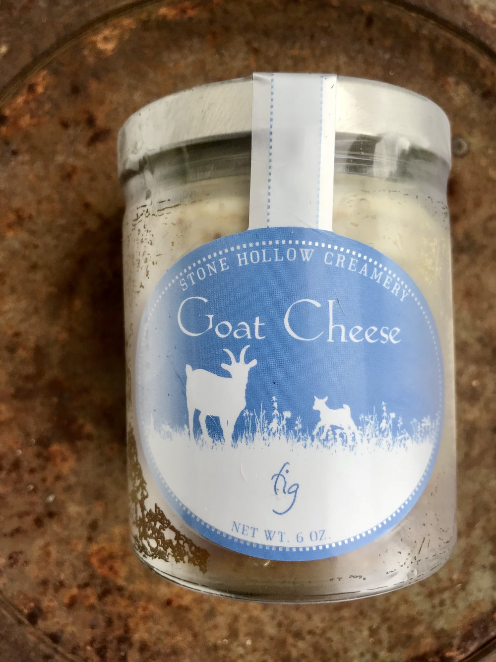 Fig Marinated Goat Cheese /  Stone Hollow Farmstead
