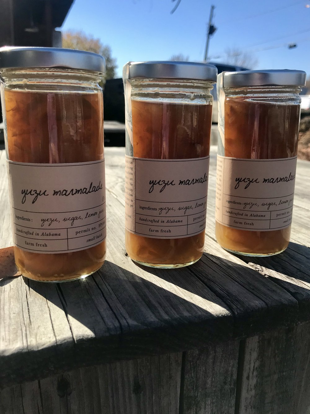 Yuzu Marmalade /  Stone Hollow Farmstead