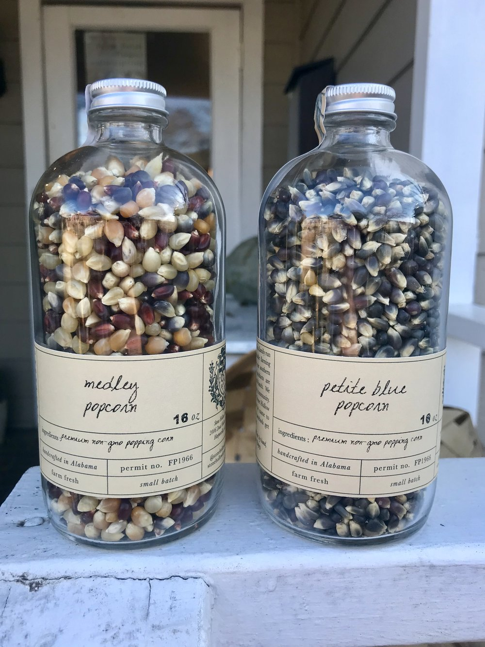 Amish Country Heirloom Popcorn /  Stone Hollow Farmstead