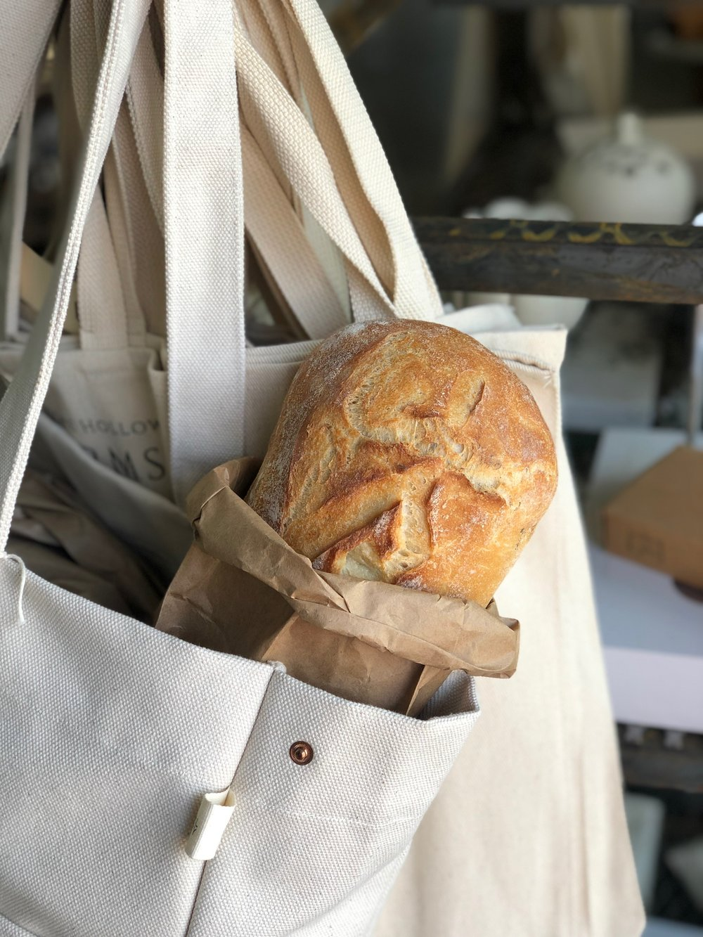 Herbed Country Bread  /   Hinkel's Bakery