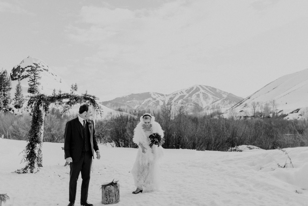 Jeff & Heather | Trail Creek Wedding | Sun Valley