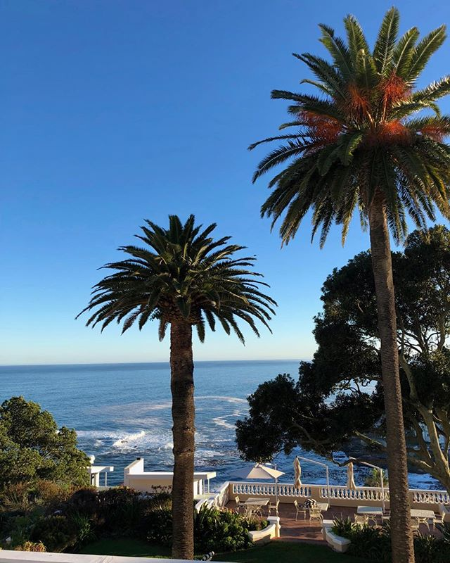 Quite possibly no more beautiful spot for breakfast world wide than ellerman house in Cape Town right after sunrise. Put this on your must do list please.  Cape Town comes alive at ellerman house - wine cellar, local music, and the most remarkable African art collection.