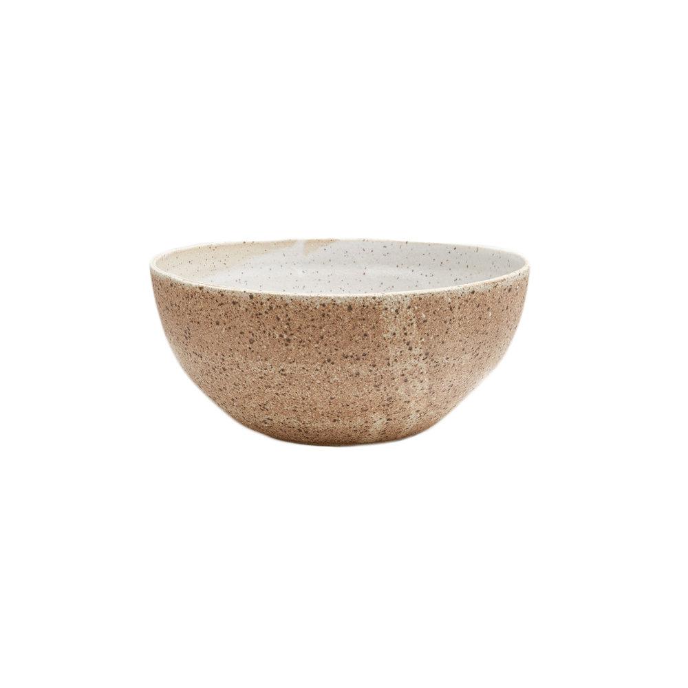 Large Bowl / Calico Stoneware Kati Von Lehman, $84