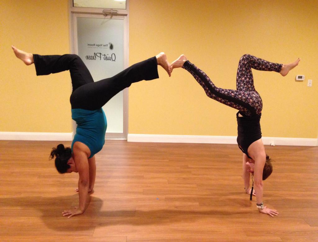Handstand Pyramid