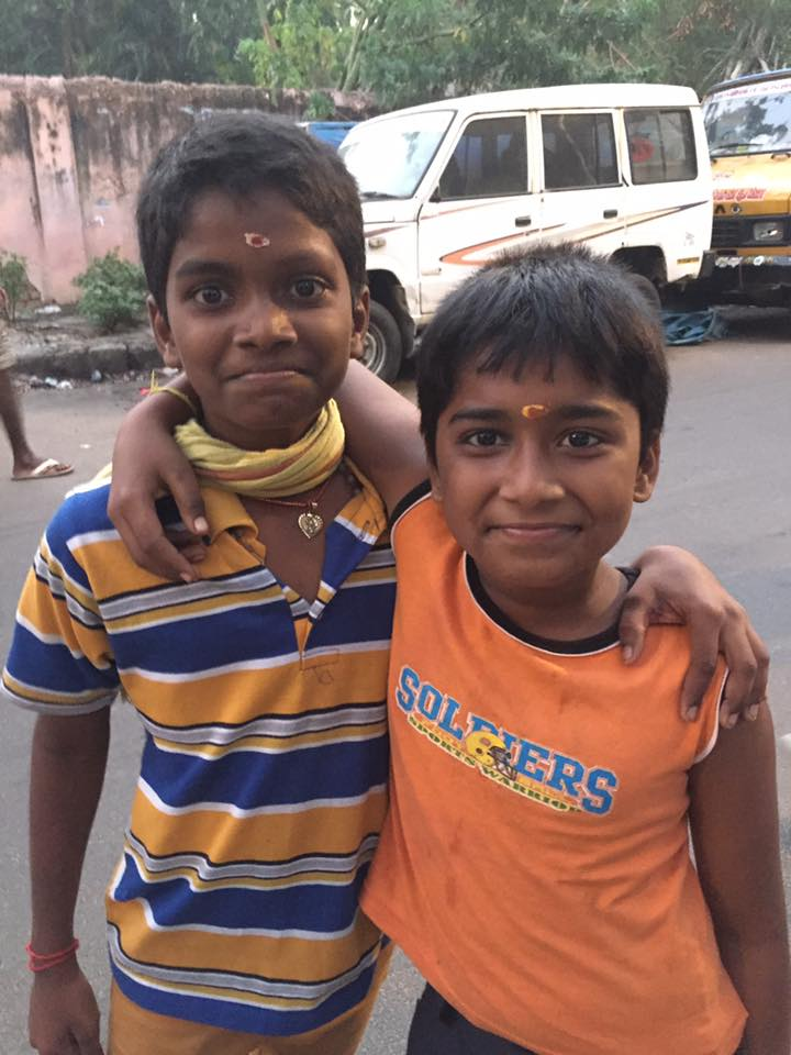 These two kids followed me down the street and asked me to take their photo. Love their personalities.  <3