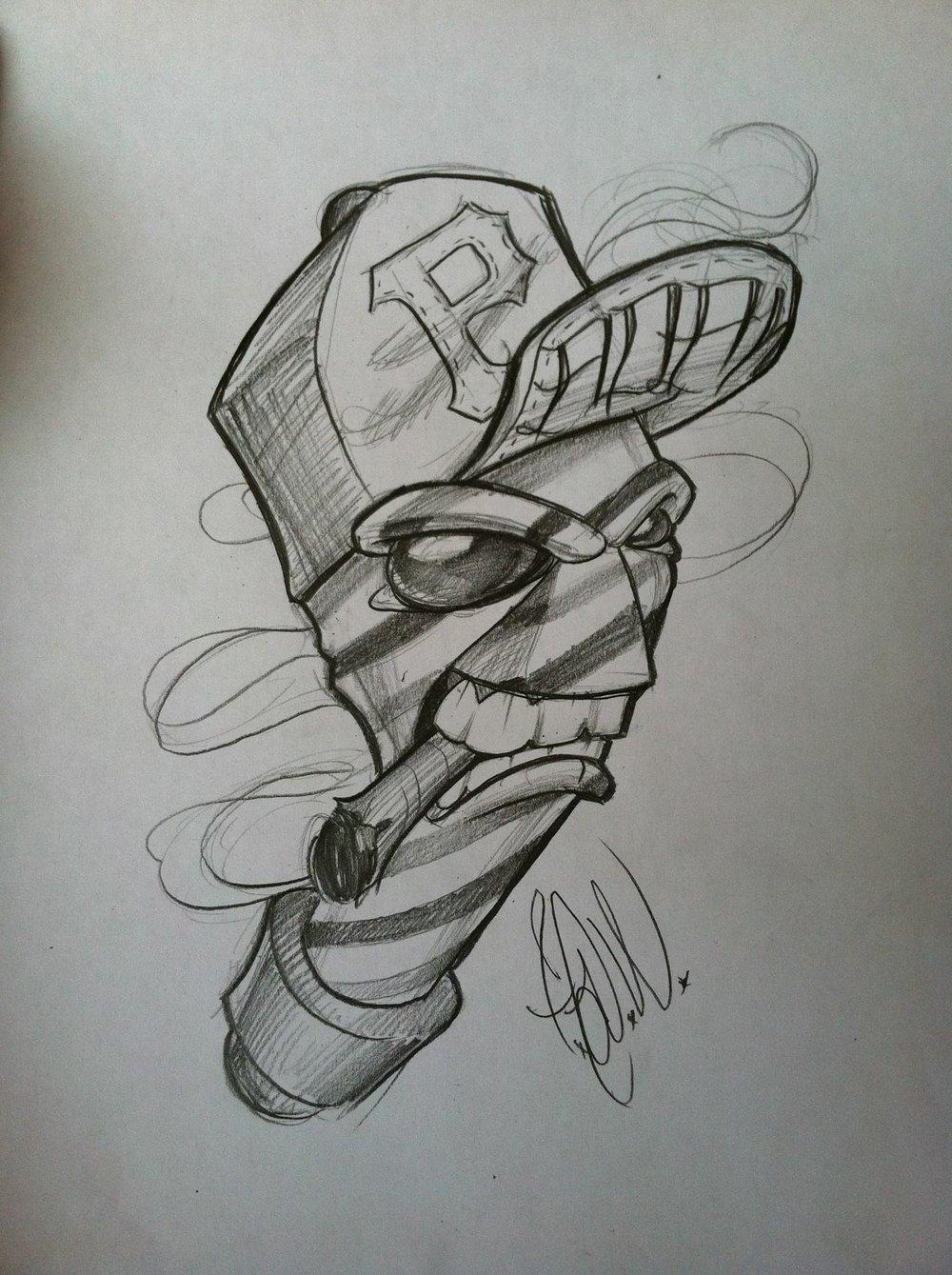 Original Pencil Sketch by: Will Fazzolare