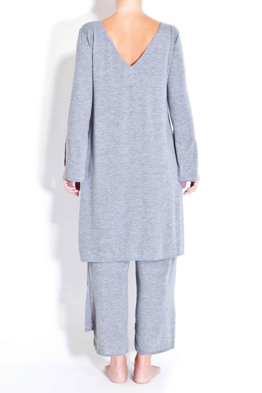 One-piece V-neck jumpsuit