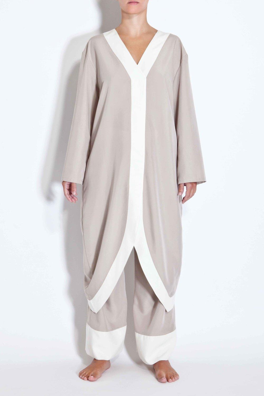 Half-moon kimono - Ecru
