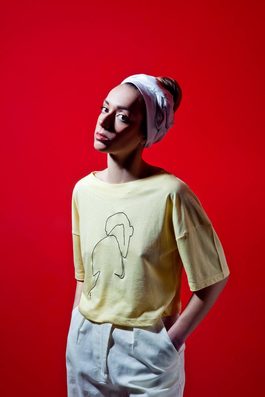 T-Shirt Phaino - Yellow - Couple