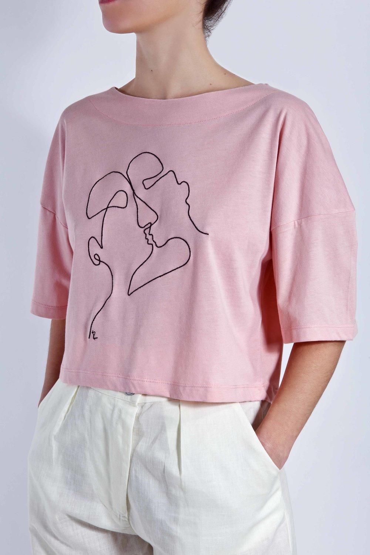 T-Shirt Phaino - Pink - Cycladic