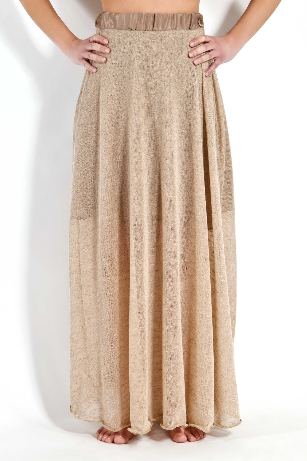 Camel Gauge Skirt