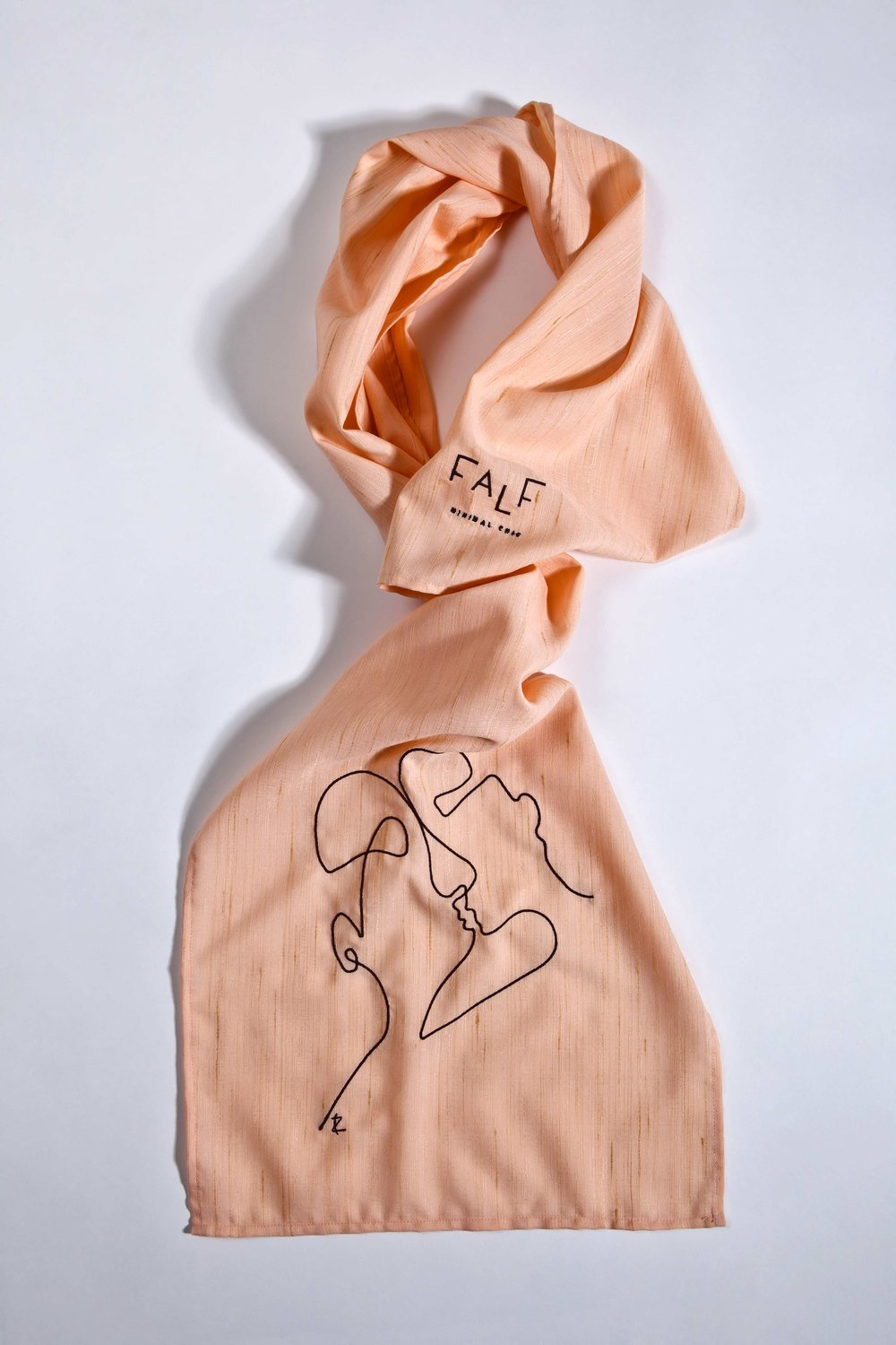 Lobster Scarf Phaino - Cycladic