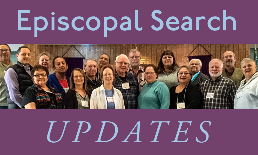 Update on the Episcopal Search