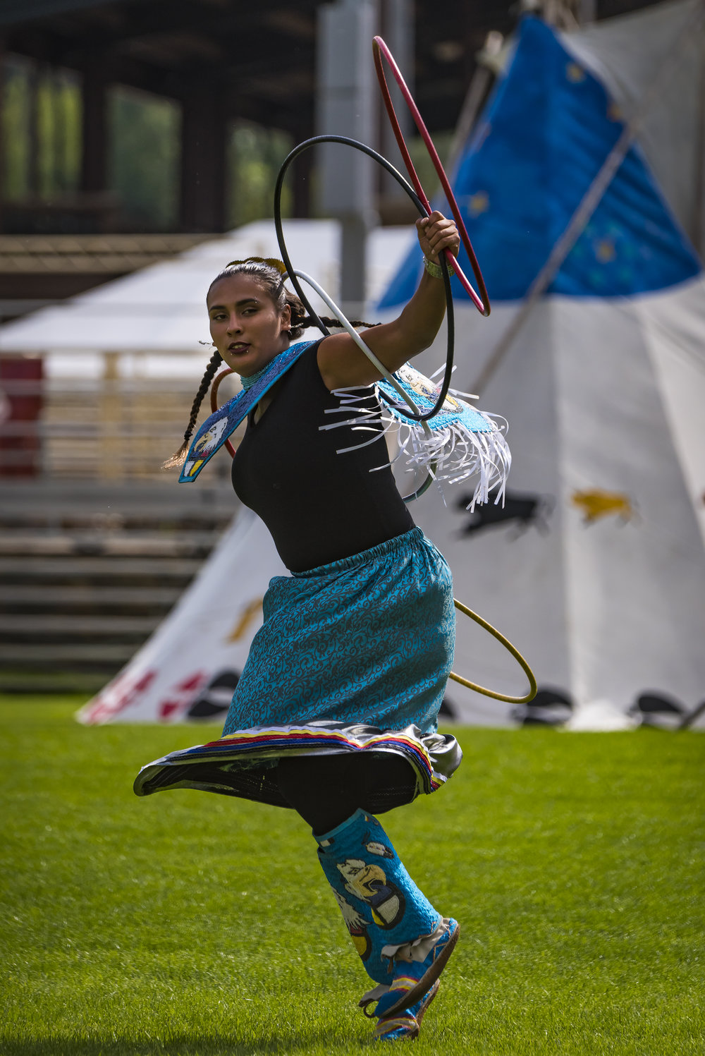 Hoop Dancer, courtesy of the South Dakota Department of Tourism