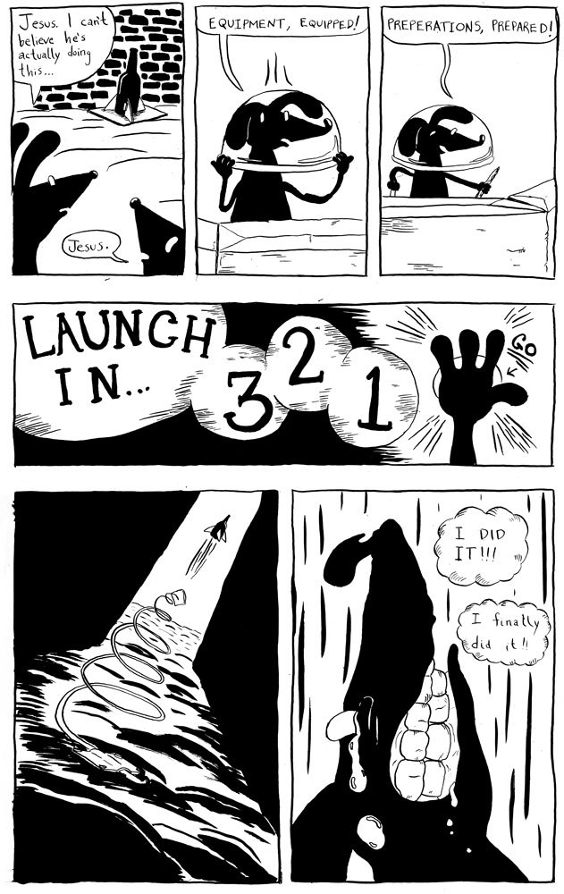 Excerpt from independent comic I produced.