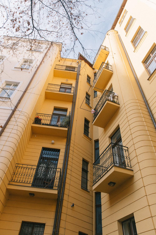 Local Prague Neighborhood Apartments
