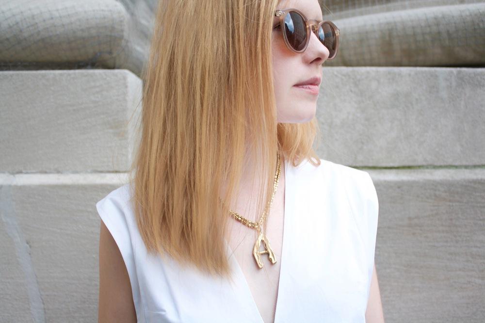 Necklace:  Gabrielle Vallarino