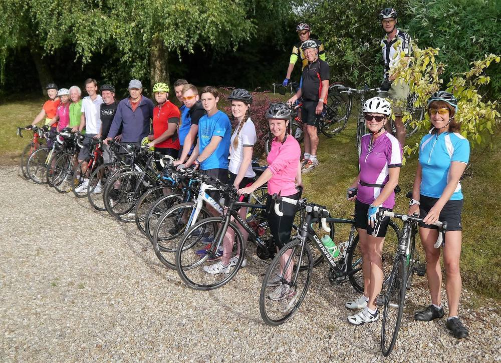 August 2016 Social Bike Ride, Blagdon Hill, Taunton