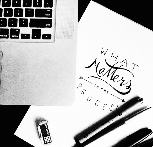 """What matters is the process."" // Yellow Bird Visuals"