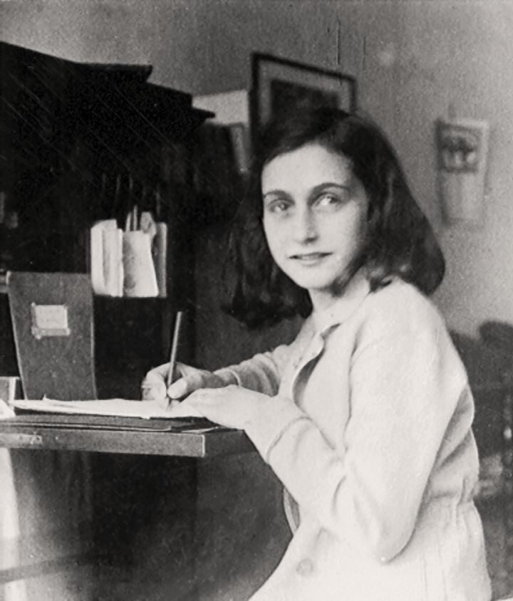 A picture of Anne Frank - one of the many courageous women throughout history who made an impact. Today is International Women's Day. Remember to love on the beautiful + hard working ladies in your life, not only today but everyday. We are all equal and we are all worthy of love and respect. Keep on rockin' , ladies! The world needs you.