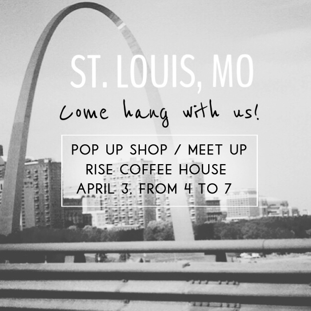 Missouri,  WHERE YOU AT ?!   We cannot wait to meet all of your awesome faces tomorrow!   Be at   Rise Coffee House   at  4 o'clock !   Get prepared to be hugged and loved on by all of us!    Rise Coffee House      4180 Manchester Ave       St. Louis MO, 63110