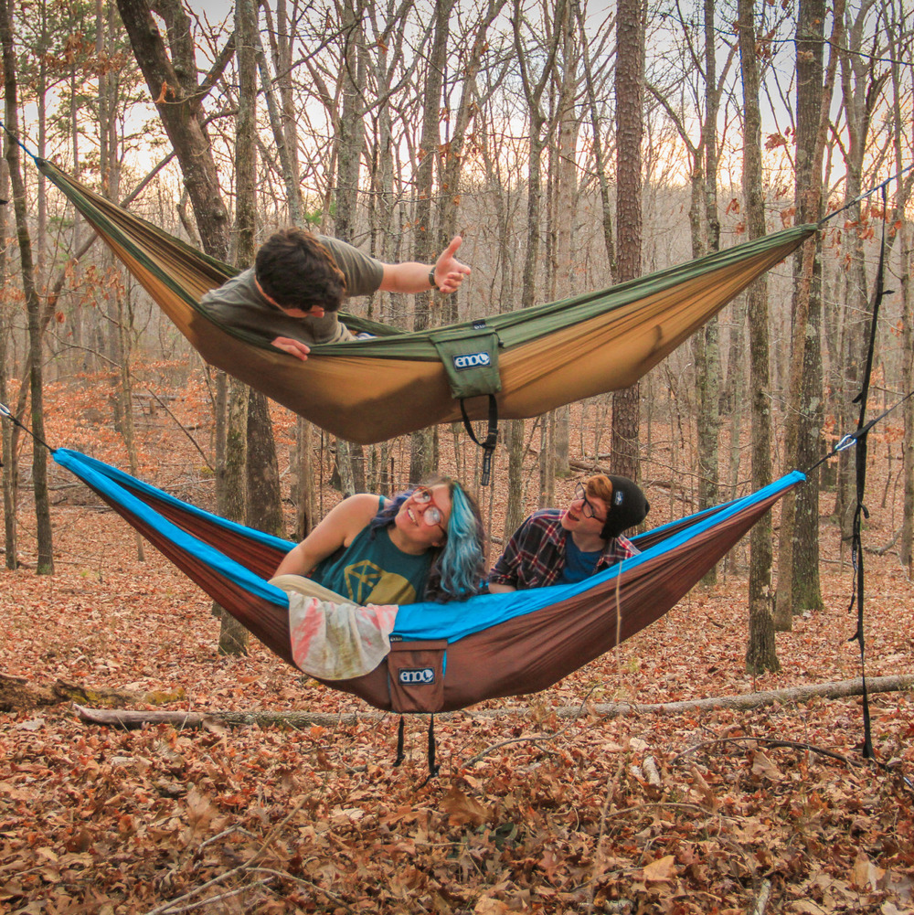 We wanted to take this Sunday to give you a little peek of a new pal that's going to be touring with us!    ENO Hammocks!    We are so stoked to be sponsored by these awesome people and even more excited to be  lounging  in these delights after the   crazy days   we are about to dance through in this tour!     More pictures to come to share our love for  new friends !       We love you ENO!     And we love  you , readers, for not only supporting us through this journey, but also supporting yourself in knowing that you are indeed  so worth loving . :)   P.S. This picture was shot by the awesome ladies of  More Than A Snapshot Photography      http://morethanasnapshot.zenfolio.com/home