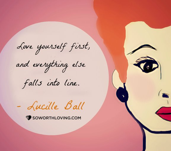 we love lucy.. and we love this quote too! A design by our one and only Alexandria!