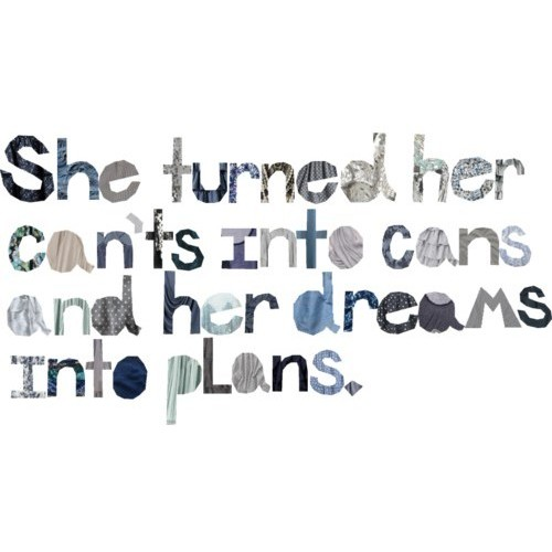 she turned her cant's into cans.