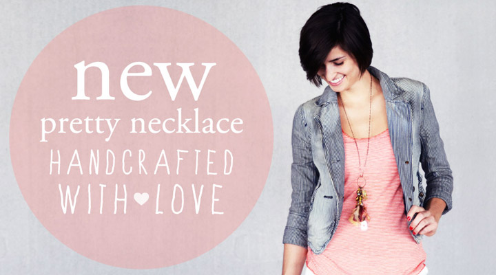 our new necklace… and it's NOW AVAILABLE!!!  >>click here<<     This vintage necklace was inspired by what you may find in your grandmothers jewelry box. So Worth Loving partnered with    Tricksy Apparel    and created this necklace that is full of character, with each gem and bead having a specific purpose. You will notice the SW and heart charms that have been disguised in this necklace amongst all the antique pieces. Sometimes reminding yourself you are worth loving can be subtle and we wanted to do just that. We wanted to create a piece that is cute with a long skirt and tank top or a pair of skinny jeans and an old t-shirt.     This necklace has shades of brass, gold, and silver making it easy to pair with any piece of jewelry you have. Each heart charm is truly a vintage piece as well as some of the beadings, making each necklace ONE OF A KIND.